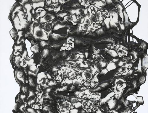 Astéroïde & Echelle – 109,5 cm x 129 cm