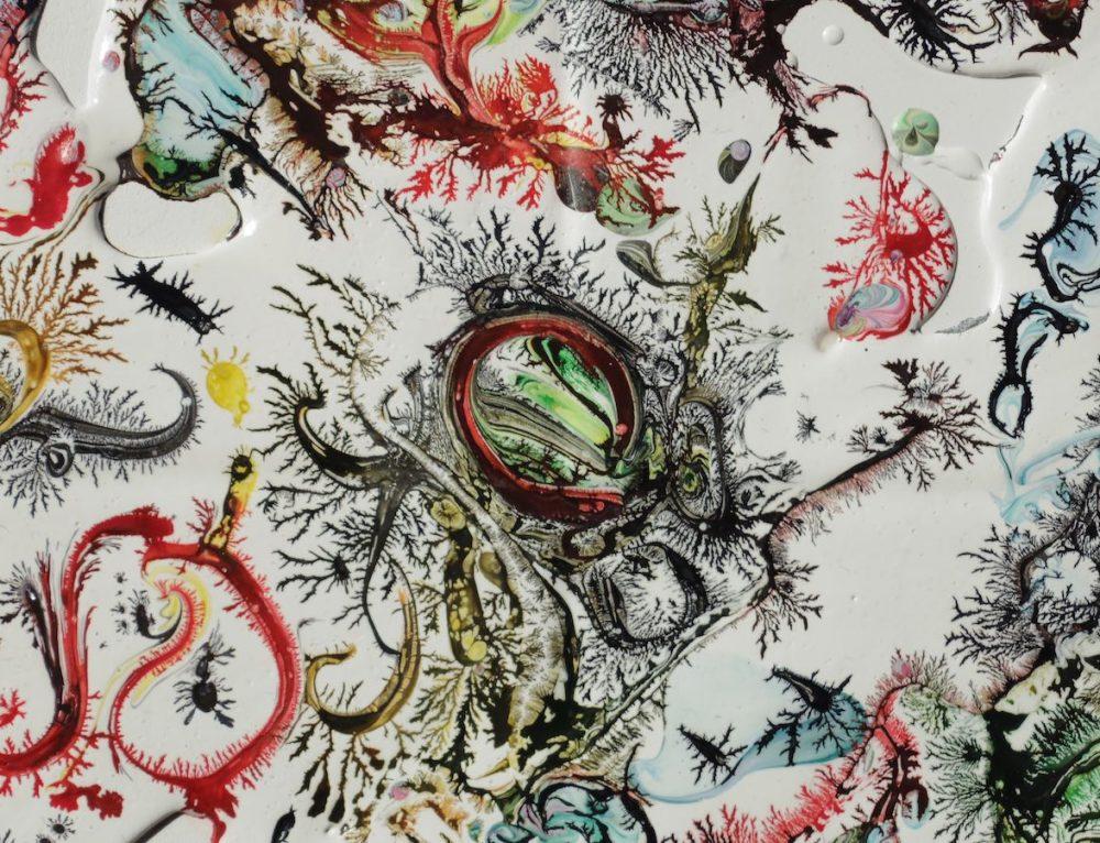 Céramique Perroquet – 40 cm x 80 cm